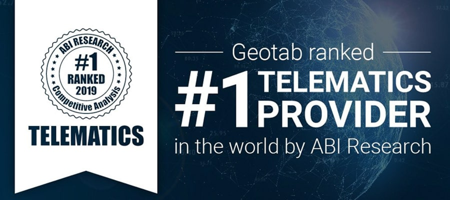 Geotab Elegido Como El Mejor Proveedor De Telemática